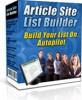 Thumbnail Article Site List Builder