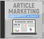 Product picture Article Marketing for Content and Profit